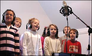 Children Recording
